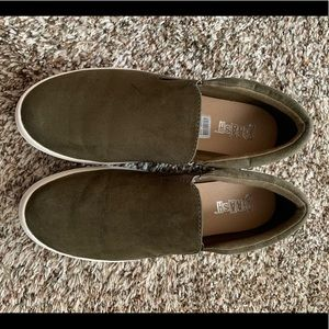 Brash Olive Green Sneakers